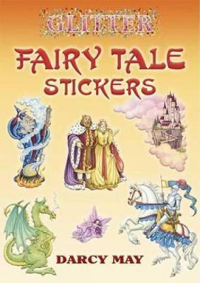Glitter Fairy Tale Stickers - Glitter (Paperback)