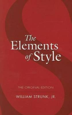 The Elements of Style - Dover Language Guides (Paperback)