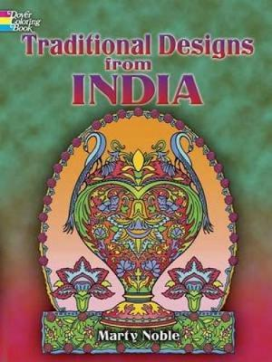 Traditional Designs from India - Dover Design Coloring Books (Paperback)
