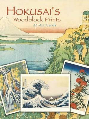 Hokusai's Woodblock Prints: 24 Art Cards - Dover Postcards