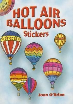Hot Air Balloons Stickers - Dover Stickers (Paperback)