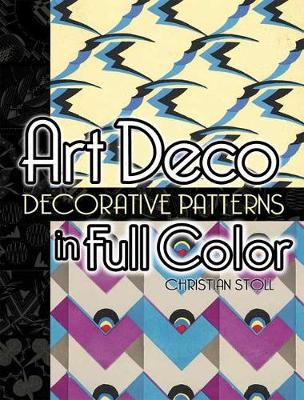 Art Deco Decorative Patterns in Full Color - Dover Pictorial Archive (Paperback)