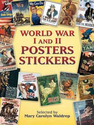 World War I and II Posters Stickers (Paperback)