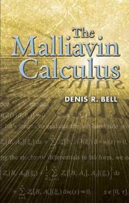 The Malliavin Calculus - Dover Books on Mathematics (Paperback)