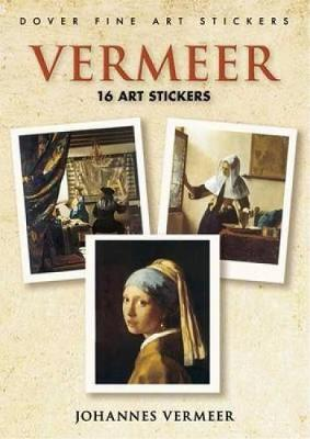 Vermeer: 16 Art Stickers - Dover Art Stickers (Paperback)