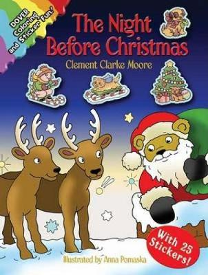 The Night Before Christmas - Dover Holiday Coloring Book