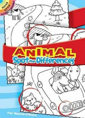 Animal Spot-The-Differences - Dover Little Activity Books (Paperback)