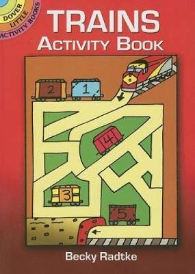 Trains Activity Book - Dover Little Activity Books (Paperback)