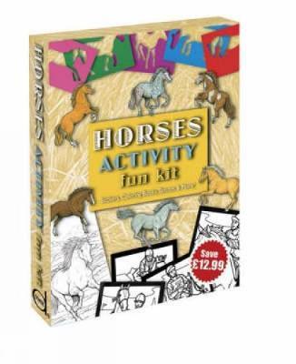 Horses Activity Fun Kit - Dover Fun Kits