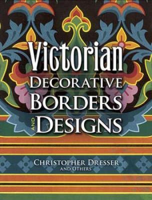 Victorian Decorative Borders and Designs (Paperback)