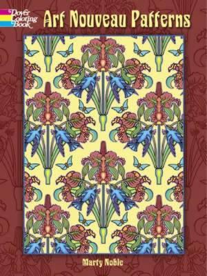 Art Nouveau Patterns (Paperback)