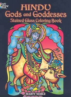 Hindu Gods and Goddesses Stained Glass Coloring Book by Marty ...