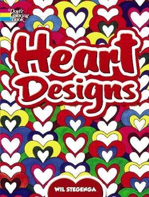 Heart Designs - Dover Design Coloring Books (Paperback)