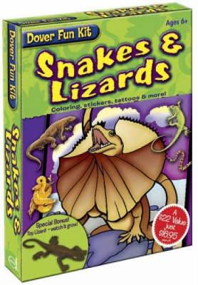 Snakes and Lizards - Dover Fun Kit