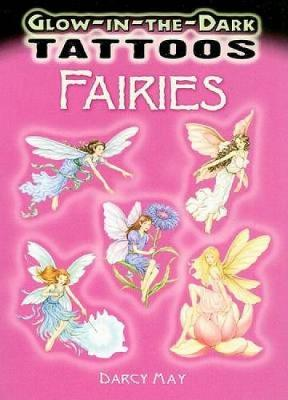 Glow-In-The-Dark Tattoos: Fairies - Dover Tattoos (Paperback)