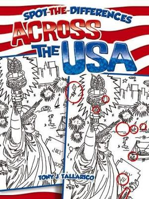 Spot-The-Differences Across the USA - Dover Children's Activity Books (Paperback)