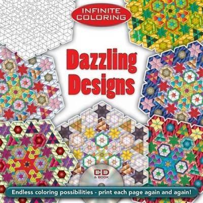 Dazzling Designs - Dover Design Coloring Books