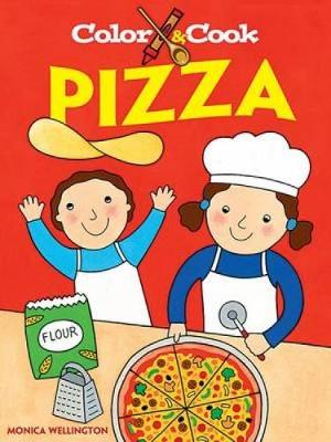 Color and Cook Pizza - Dover Coloring Books (Paperback)