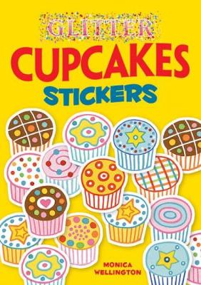 Glitter Cupcakes Stickers - Dover Little Activity Books Stickers (Paperback)