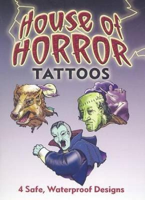 House of Horror Tattoos - Dover Tattoos (Paperback)