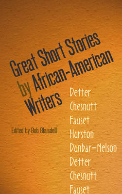 Great Short Stories by African-American Writers - Dover Thrift Editions (Paperback)