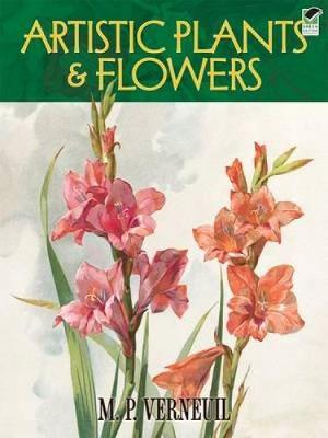 Artistic Plants and Flowers - Dover Fine Art, History of Art (Paperback)