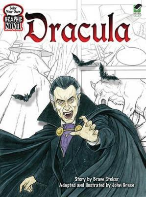 Dracula - Dover Classic Stories Coloring Book (Paperback)