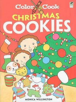 Color & Cook Christmas Cookies - Dover Coloring Books (Paperback)