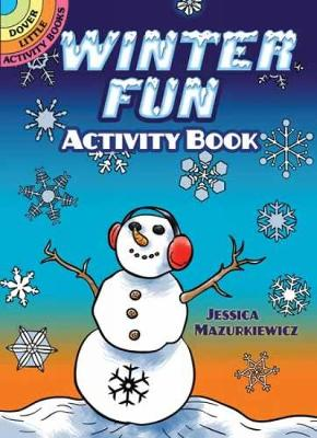 Winter Fun Activity Book - Dover Little Activity Books (Paperback)