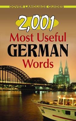 2, 001 Most Useful German Words - Dover Language Guides German (Paperback)