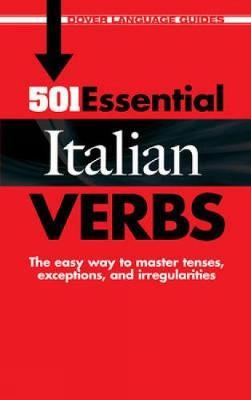 501 Essential Italian Verbs - Dover Language Guides Italian (Paperback)
