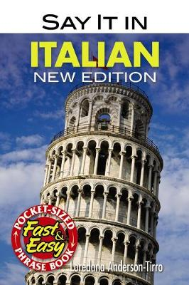 Say It In Italian - Dover Language Guides Say It Series (Paperback)