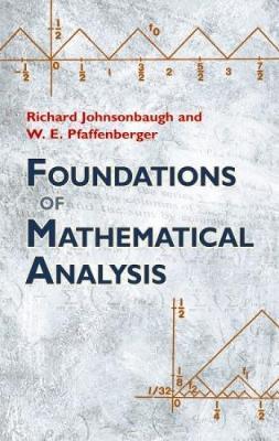 Foundations of Mathematical Analysis - Dover Books on Mathematics (Paperback)