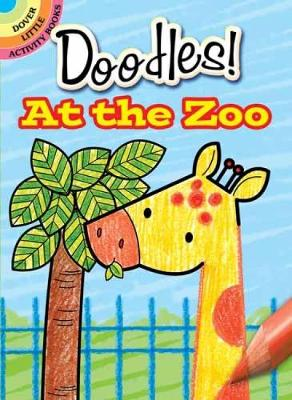 What to Doodle? at the Zoo - Dover Doodle Books (Paperback)