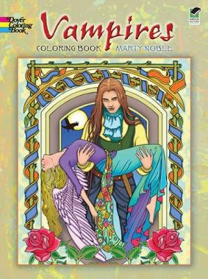 Vampires Coloring Book - Dover Coloring Books (Paperback)