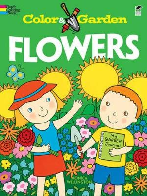 Flowers - Dover Coloring Books (Paperback)