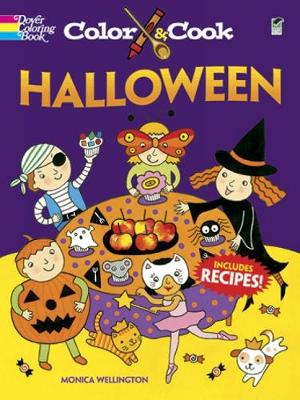 Color & Cook Halloween - Dover Coloring Books (Paperback)