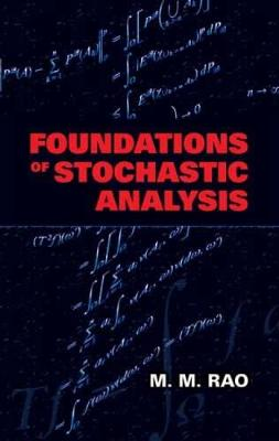 Foundations of Stochastic Analysis - Dover Books on Mathematics (Paperback)