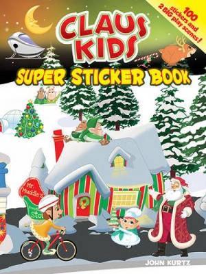 Claus Kids - Dover Sticker Books (Paperback)