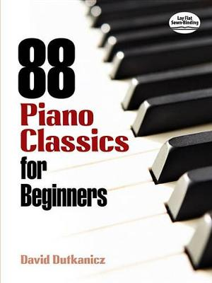 88 Piano Classics For Beginners (Paperback)