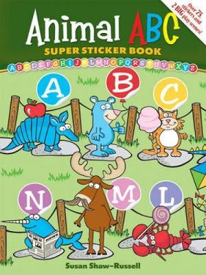 Animal ABC - Dover Sticker Books (Paperback)