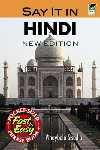 Say it in Hindi (Paperback)