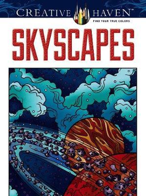 Skyscapes Coloring Book - Dover Design Coloring Books (Paperback)