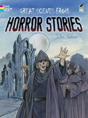 Great Scenes from Horror Stories - Dover Classic Stories Coloring Book (Paperback)