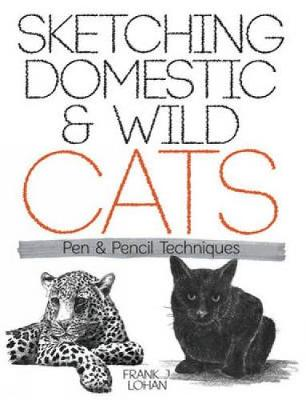 Sketching Domestic and Wild Cats: Pen and Pencil Techniques - Dover Art Instruction (Paperback)