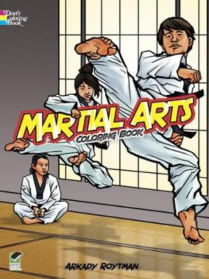 Martial Arts Coloring Book - Dover Coloring Books (Paperback)