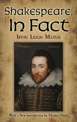 Shakespeare, In Fact (Paperback)