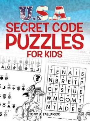 U.S.A. Secret Code Puzzles for Kids (Paperback)