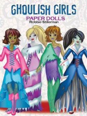 Ghoulish Girls Paper Dolls (Paperback)