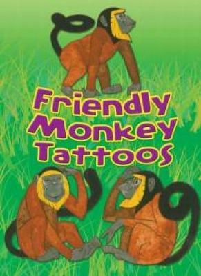 Friendly Monkey Tattoos (Paperback)